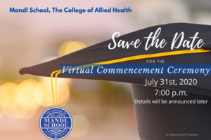Mandl Save the Date Graduation 2020