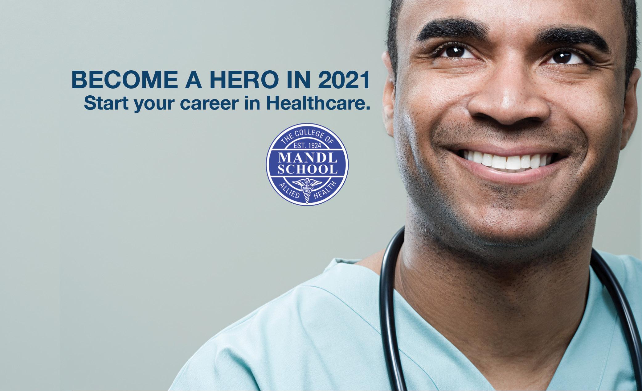 Smiling medical professional